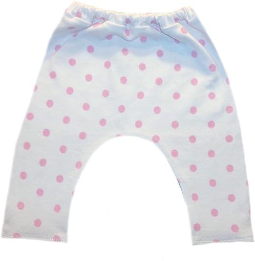 Made in The USA! 6 Sizes Jacquis Baby Girls White Capri Leggings