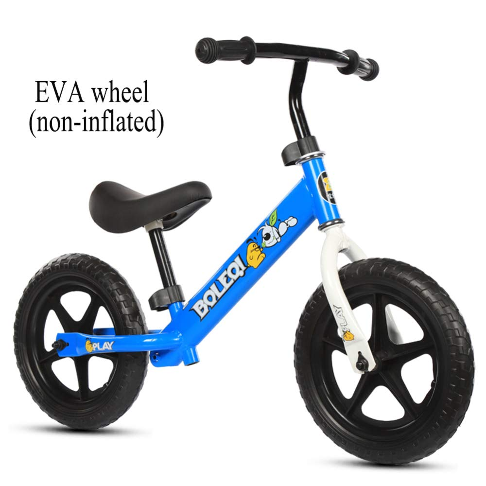 shuhong 12 Zoll Kinder Laufrad Lauflernrad Kinderrad Verstellbarer Lenker Und Sitzhöhe Luftrad Eva-Rad   2-6 Jahre   80-120 cm,B D