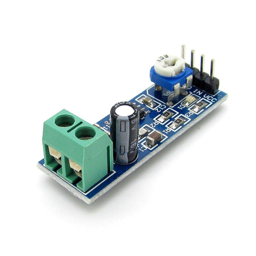 5pcs 5v 12v 200 Gain Lm386 Audio Amplifier Module For Door Phone Circuit Using Arduino Ek1236 Home Theater