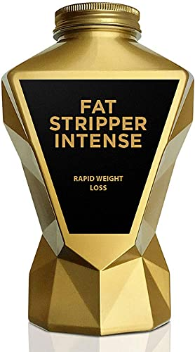 LA MUSCLE Fat Stripper Intense – Premium Thermogenic Fat Burner for Men Women For Fast Weight Loss Belly Fat Burn Supplement, Appetite Suppressant, Energy Booster, Keto Veggie Vegan Diet Pills
