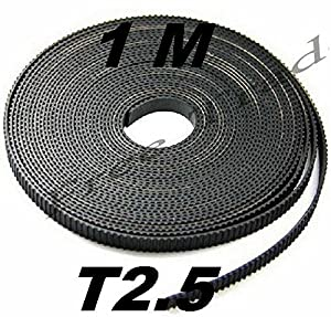 HEASEN 3D Printer Parts Timing Belt T2.5-6MM.Belt Open Timing Belt for Mendel PRUSA FLASHFORGE from HEASEN