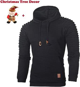 FRCOLT Mens Winter Fleece Windproof Jacket Woollen Outerwear Classic Jacket Coats
