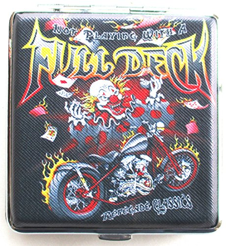 Mens Renegade Motorcycle - Cigarette Case Chopper Motor Cycle Renegade Classics Full Deck