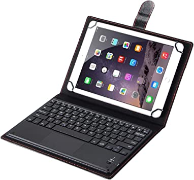 J&H Funda universal de piel para teclado para tablet Samsung ...