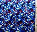 キャラクター生地・USAコットン・スーパーマン(ブルー)#2の商品画像