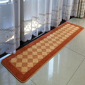 XWG Alfombra de / Cocina Tapetes larga alfombra / cabecera lavable a máquina del cojín del pie / puerta Mat / Puerta colchones ...
