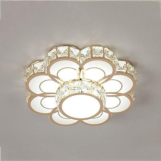 Lámpara de techo LED moderna, Techo del luces cristal, 3 ...