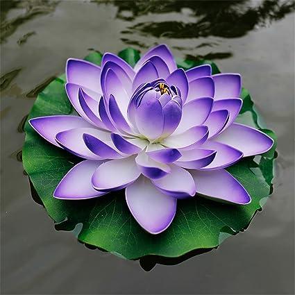 Amazoncom Taixi Decorative Fake Water Lily Flower Lotus Flowers