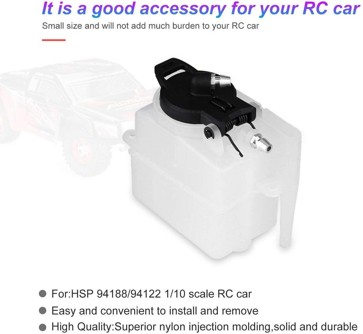 couleur: blanc R/éservoir de carburant de mazout simul/é dessence de mazout de pi/èces de rechange de mod/èle de r/éservoir de p/étrole RC pour la voiture RC d/échelle 1//10 de HSP 94188//94122