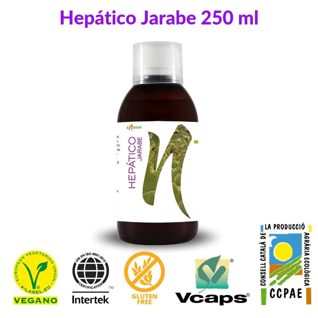 Bnatural Hepático Jarabe - 250 ml: Amazon.es: Salud y ...