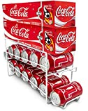 Sorbus® Soda Can Beverage Dispenser Rack – Dispenses 12 Standard Size 12oz Soda Cans and Holds Canned Foods