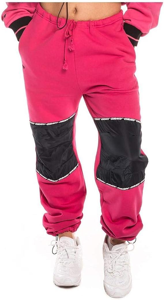 Grimey Pantalon Nemesis Girl Sweatpant Rosa Mujer: Amazon.es: Ropa ...