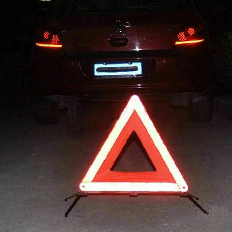 Auto Warndreieck Reflektierende Warnweste KIT,PKW KFZ Kombitasche Auto Verbandskasten Warndreieck Set Warnweste