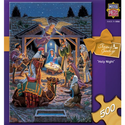 Holy Night Nativity 500 Piece Jigsaw Puzzle