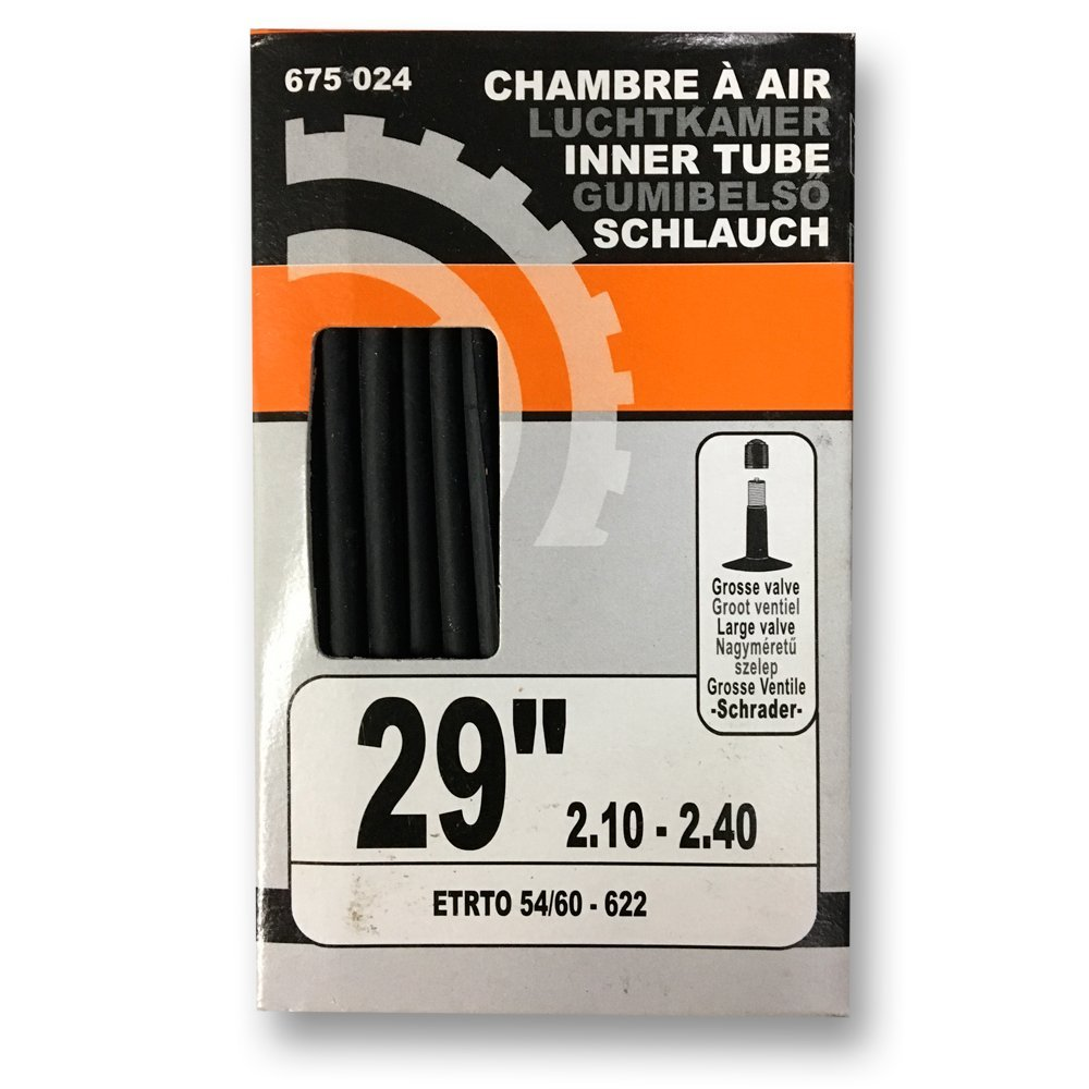 622 Schrader gruesa Valve sixsept 675024 C/ámara de aire bicicleta monta/ña 29 pulgadas 2.10-2.40 ETRTO 54-60