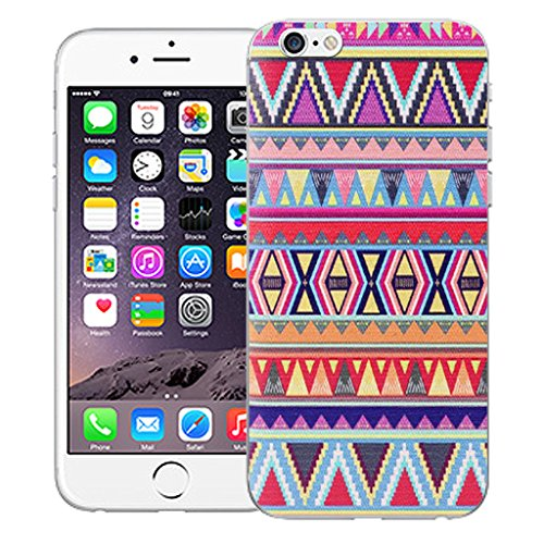 """Mobile Case Mate iPhone 6S Plus 5.5"""" Silicone Coque couverture case cover Pare-chocs + STYLET - Fire pattern (SILICON)"""