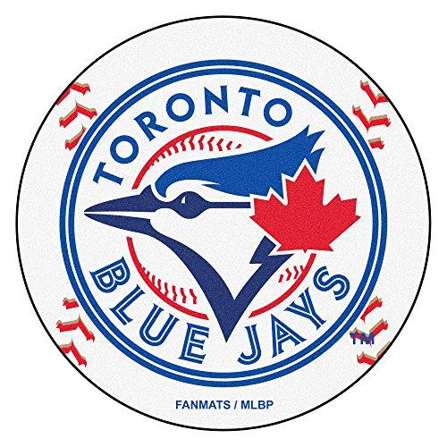 FANMATS MLB Toronto Blue Jays Nylon Face Baseball Rug