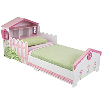 Amazon KidKraft Dollhouse Toddler Bed Toys Games