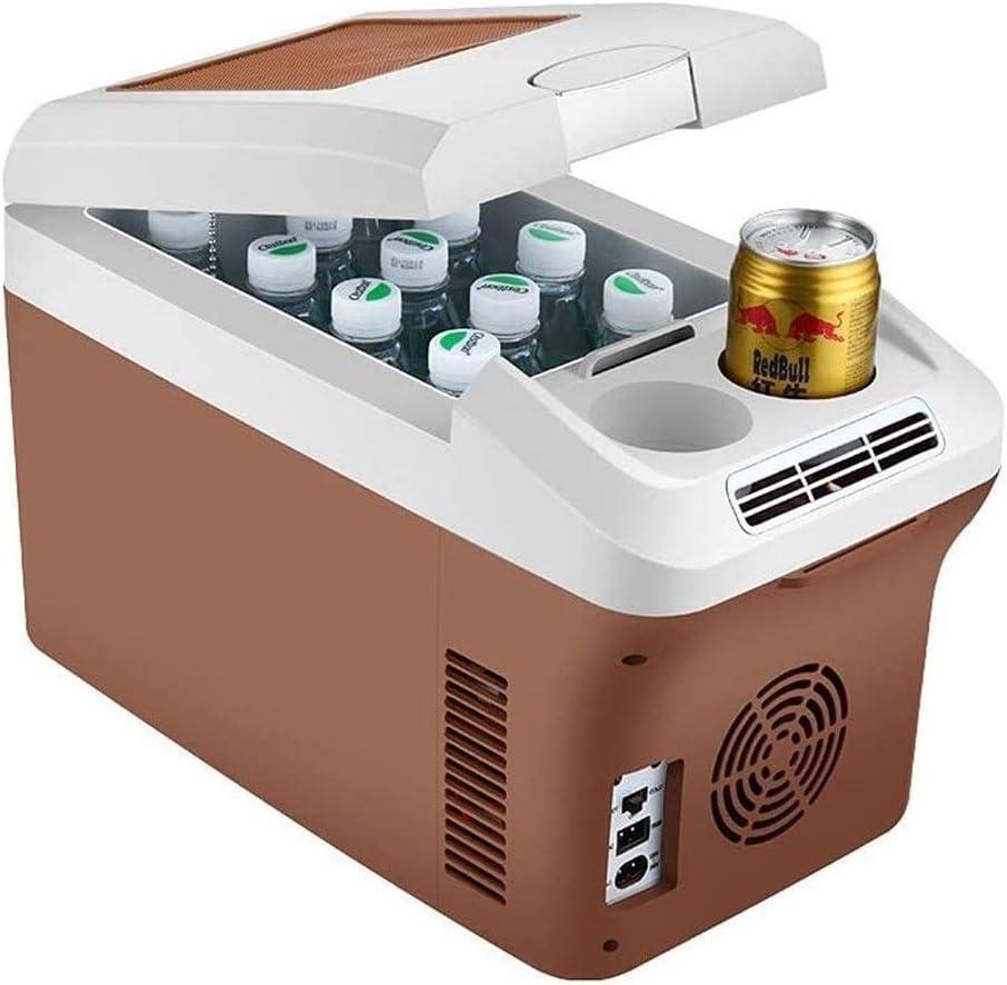 LEILEI Refrigerador de 15L Refrigerador portátil Refrigerador de Cerveza con portavasos y Correa para el Hombro Ahorro de energía y protección del Medio Ambiente Adecuado para Viajes y acampadas