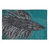 Deny Designs Valentina Ramos Beta Fish Woven Rug, 2