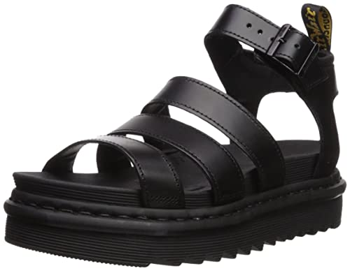 4d26a8f35853 Dr. Martens Women s Blaire Ankle Strap Sandals  Amazon.co.uk  Shoes ...