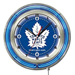Toronto Maple Leafs 19 Neon Clock