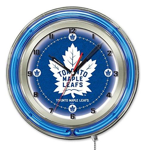 Toronto Maple Leafs 19 Neon Clock