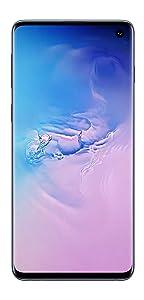 Samsung Galaxy S10 (Prism Blue, 8GB RAM, 128GB Storage) with...
