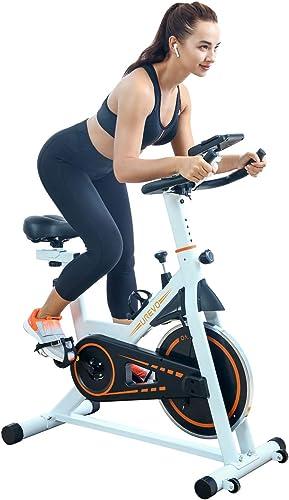 UREVO Indoor Exercise Cycling Bike Stationary Cycle Bike