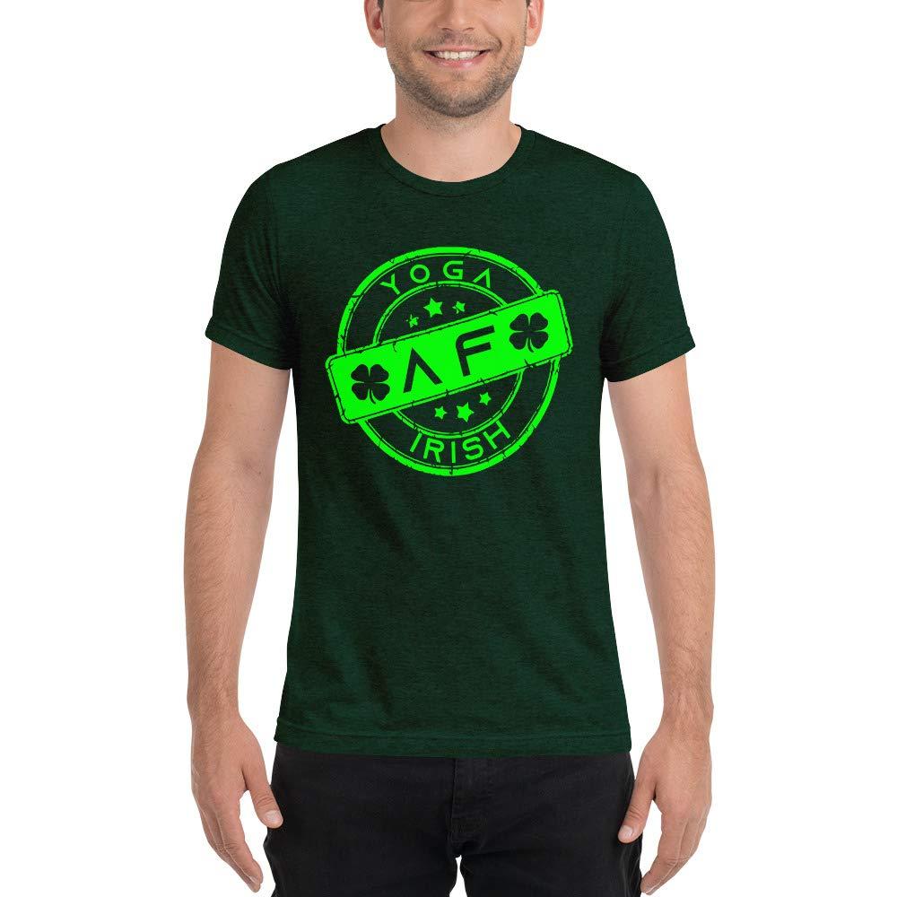 Yoga Top Short Sleeve t-Shirt Irish Shirt St Patricks Day Shirt Yoga Shirt Funny Irish Shirt Yoga Irish AF