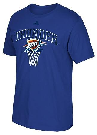 adidas Oklahoma City Thunder NBA Banco Shot Camiseta de Manga Corta para Hombre: Amazon.es: Deportes y aire libre