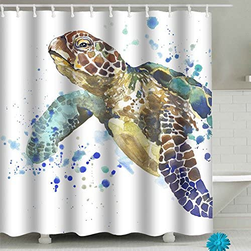 Unicorn in the woods Shower Curtain Bathroom Decor Fabric /& 12hooks 71*71inches