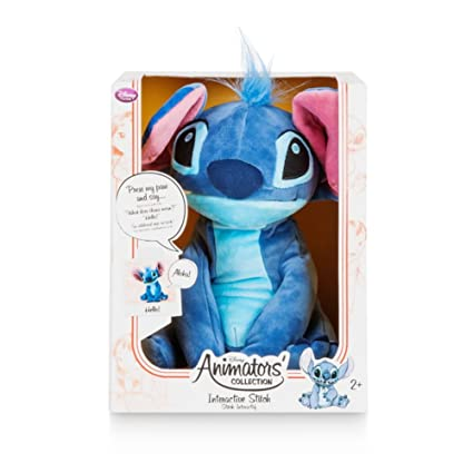 Disney Animators Collection Interactive Stitch Plush ...