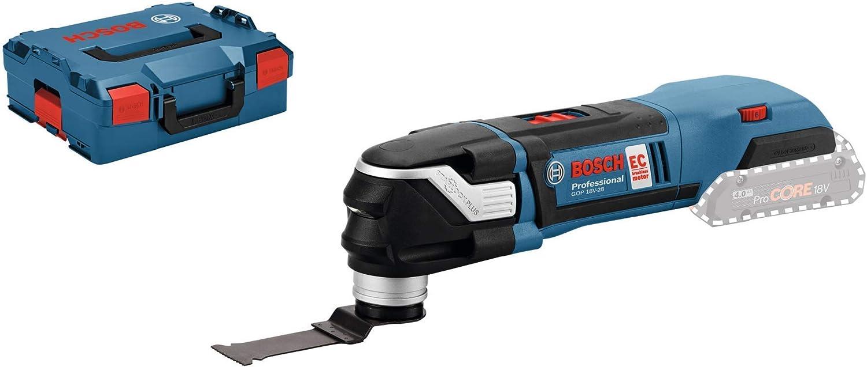Bosch Professional GOP 18V-28 Multiherramienta, 8.000 – 20.000 opm, sin batería, en L-BOXX, 18 V, Azul: Amazon.es: Bricolaje y herramientas