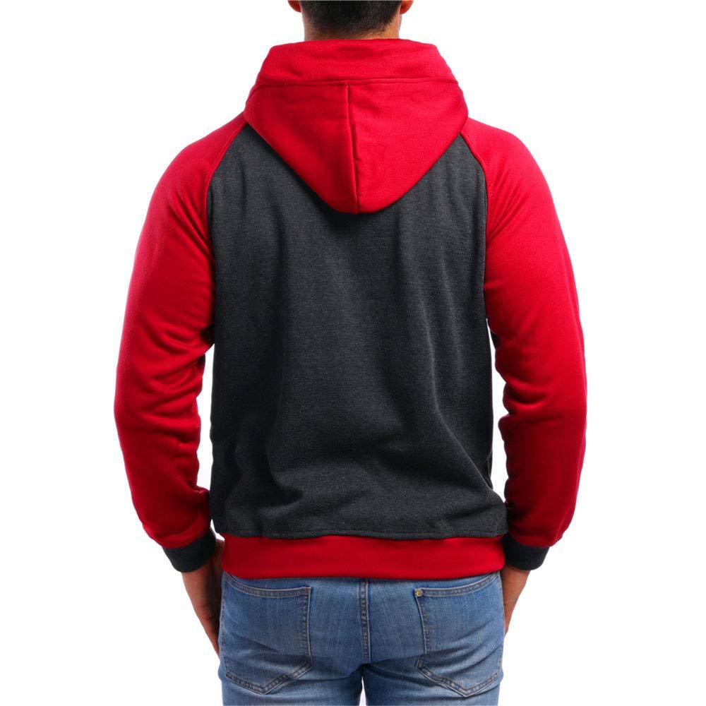 STRIR Hombres Sudaderas con Capucha Outwear Tapas Mens Casual Hooded Sweatshirts Outwear Tops: Amazon.es: Deportes y aire libre