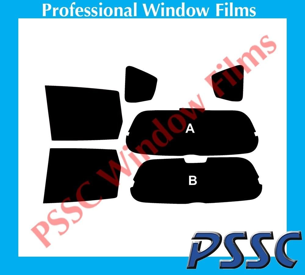 PSSC Pre Cut Rear Car Window Films for Honda Jazz MPV 2002 to 2008 20/% Dark Tint