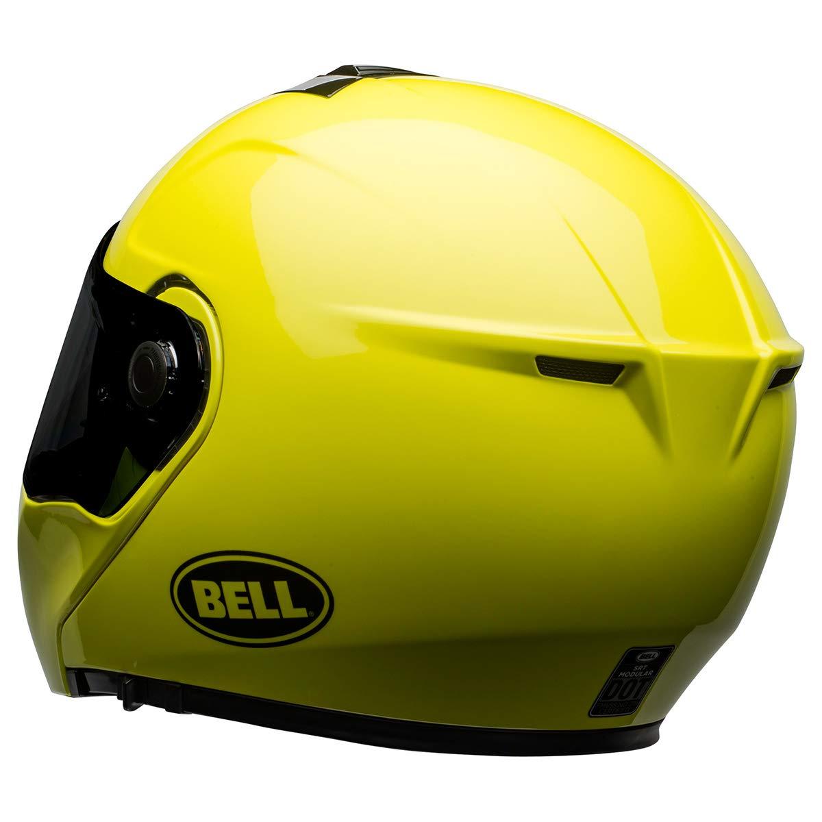 Transmit Gloss Hi-Viz, X-Large Bell SRT Modular Street Motorcycle Helmet