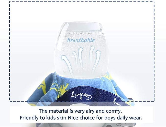 Gorboig Boys 5-Pack Boxer Briefs Cars Truck Kids Underwear