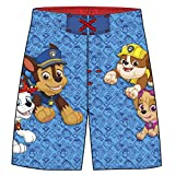 Nickelodeon Little Boys' Paw Patrol Swim Short, Blue, 4