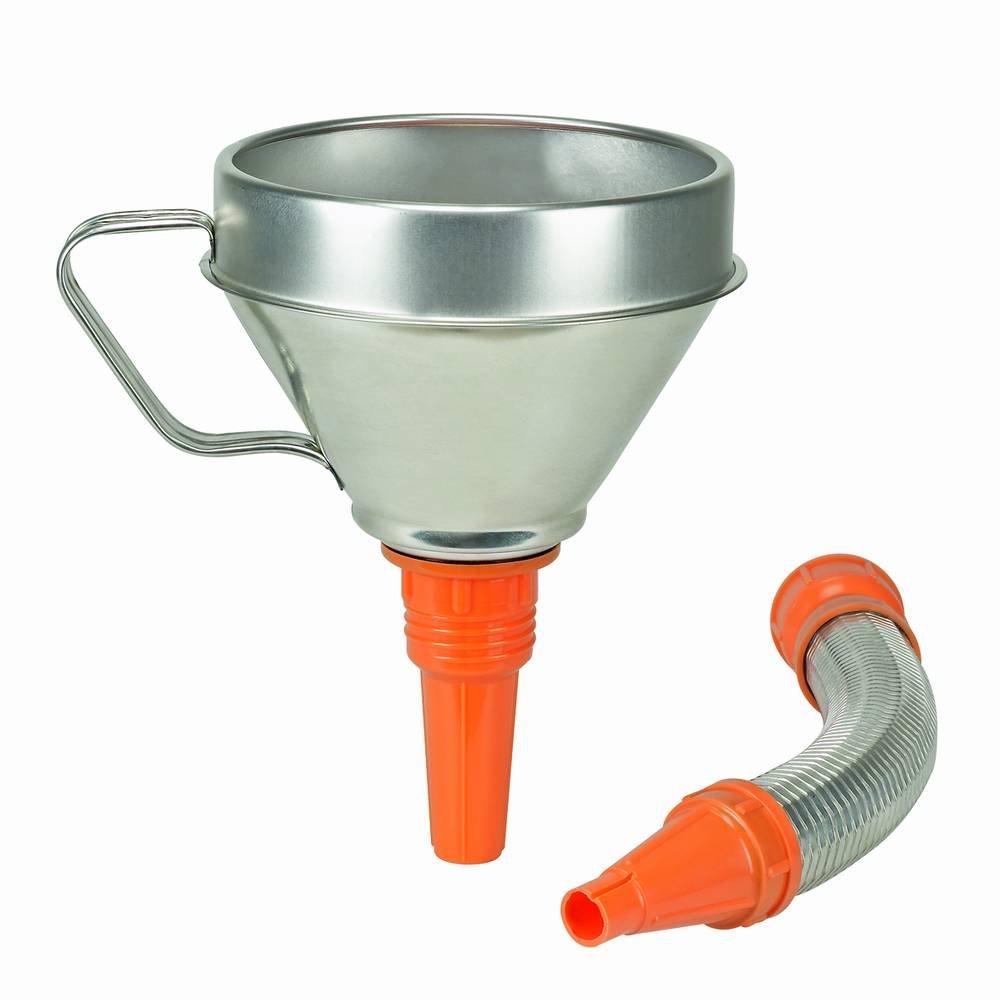 Carpoint Pressol - Embudo con manguera plegable (hojalata, 160 mm) 784336