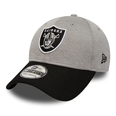 26b35365a New Era Men Caps Flexfitted Cap Jersey Hex Oakland Raiders Grey M L ...