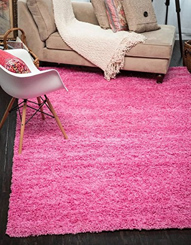 A2z Rug Cozy Shaggy Collection 10x13 Feet Solid Area Rug