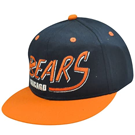 Image Unavailable. Image not available for. Color  NFL Chicago Bears Old  School Snapback Cap Hat 7e4928f86fc
