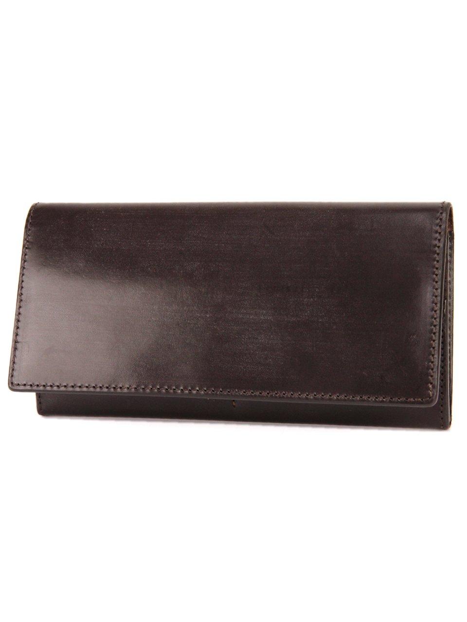 [コルボ] CORBO. 長財布 1LD-0236 face Bridle Leather フェイスブライドルレザーシリーズ B00PTE8VUI ダークブラウン ダークブラウン