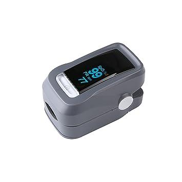 OXOQO La Yema del Dedo Oxímetro de Pulso y Monitor de Ritmo Cardíaco,OXOQO Niveles