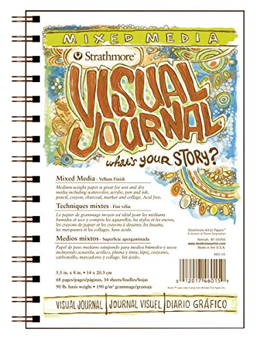 Mixed Media Journals - Strathmore 500 Series Visual Mixed Media Journal, 5.5