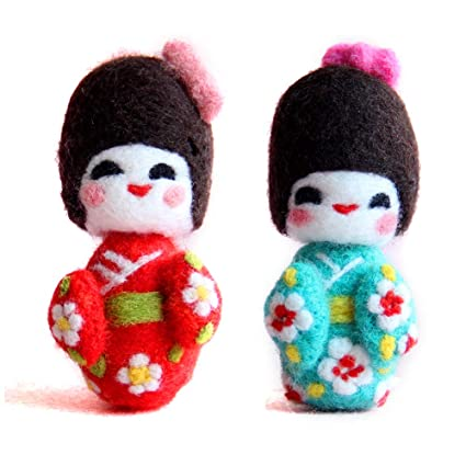 Small cute things made of wool felt-japanese craft booklet a.