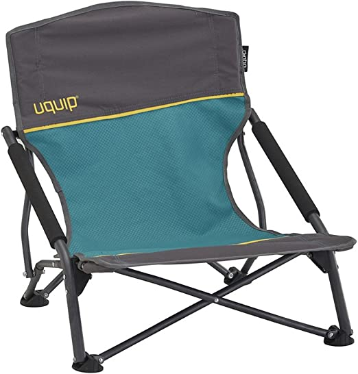 Uquip Sandy – Silla de Playa Plegable, cómoda y Estable, Azul/Gris ...