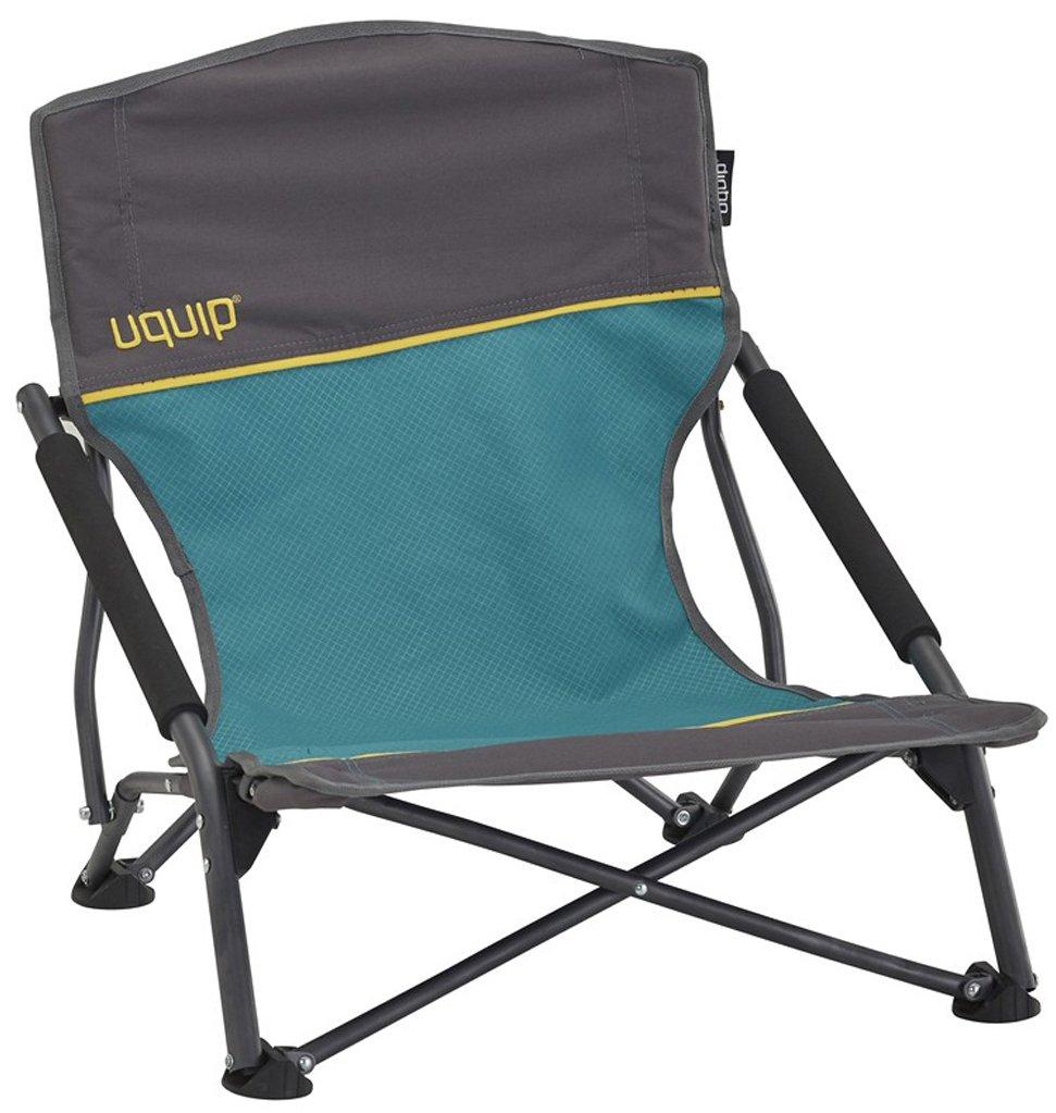 Uquip Sandy – Silla de playa plegable, cómoda y estable, azul/gris product