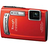 Olympus TG-320 14MP Tough Series Camera with 3.6x Optical Zoom (Red) (Old Model)
